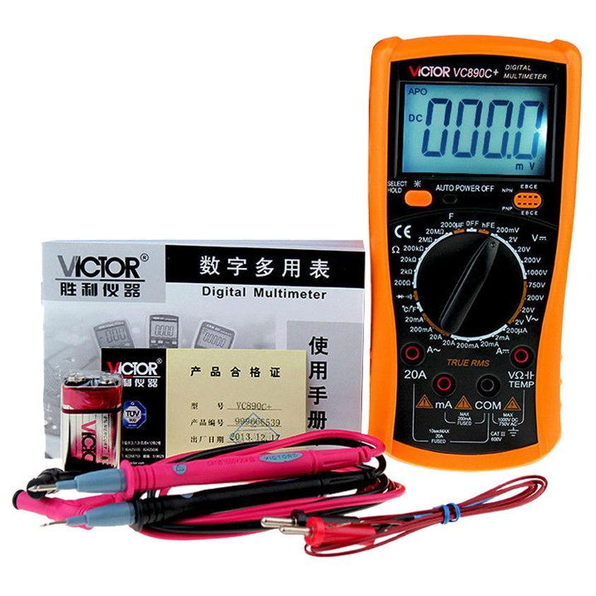Digital multimeter victor vc890c