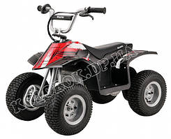 Детский квадроцикл Razor Dirt Quad Black 4101013 Квадроцикл (Dirt Quad - Black), електромобіль
