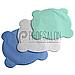 Салфетки вкладыши для стоматологической чаши плевательницы, спанбонд, 50шт в упаковке, голубые, фото 2
