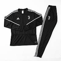 Тренировочный костюм Ювентус  черный