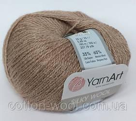 YarnArt Silky Wool (Силк вул) 337 мокко