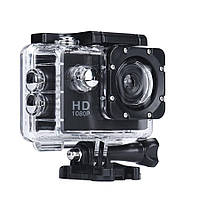 Камера, экшн камера, A7 Sports Cam, HD 1080p,спортивные видеокамеры, для экстрима, Чёрная