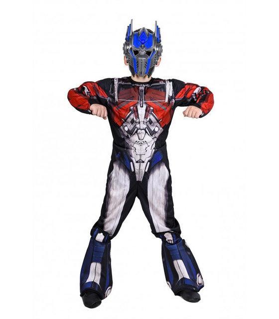 Маскарадный костюм трансформера Оптимус Прайма для мальчиков карнавальный костюм на Новый год