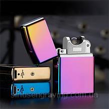 """Электроимпульсная зажигалка USB. Именная зажигалка с гравировкой """"Импульсная"""", фото 2"""