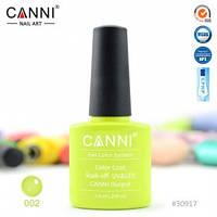 Гель-лак CANNI № 002 ( лайм, неоновый )