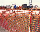 Сетка сигнальная А-80 (аварийное ограждние, универсальная, декоративная) 1*50м ячейка 80*25мм , фото 5