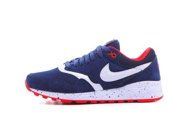 Оригинальные мужские кроссовки Nike Air Odyssey Navy Blue White Red   найк аир одисей синий 41