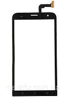 Тачскрин (сенсор) для Asus ZenFone 2 Laser (ZE551KL), черный