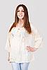 Блуза женская с прошвой