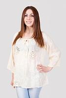 Блуза женская с прошвой , фото 1