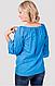 Блуза женская с прошвой , фото 2