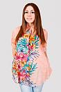 Блуза женская с великолепными летними цветами