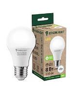 Лампа світлодіодна стандарт Enerlight A60 8Вт 4100K E27