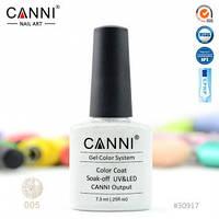Гель-лак CANNI № 005 ( блестки светлое золото )