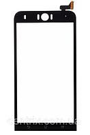 Тачскрин (сенсор) для Asus ZenFone 2 Selfie (ZD551KL), черный