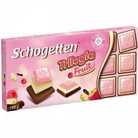 Шоколад молочный SchogettenTrilogia(трилогия)