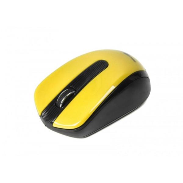 Мышь Maxxter Mr-325-Y беспроводная, USB, Yellow