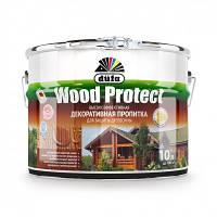 Пропитка декоративная DE Wood Protect белый 2,5л Dufa