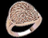 Кольцо  женское серебряное Sunny flower 21275, фото 2