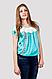 Блуза женская с ажурным украшением , фото 2