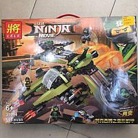 Конструктор The Lele Ninja Movie 555 pcs Суперскоростной Истребитель 555 деталей аналог Lego, фото 1