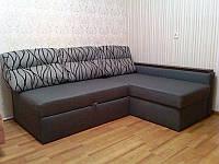 Перетяжка углового спального дивана