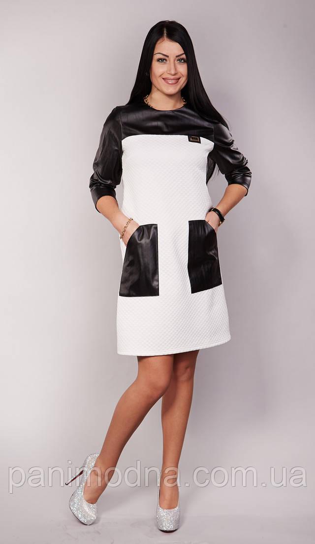 Белые молодежные платья