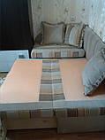 Перетяжка углового дивана для детской. Детская мебель. Перетяжка мягкой мебели Днепр., фото 2