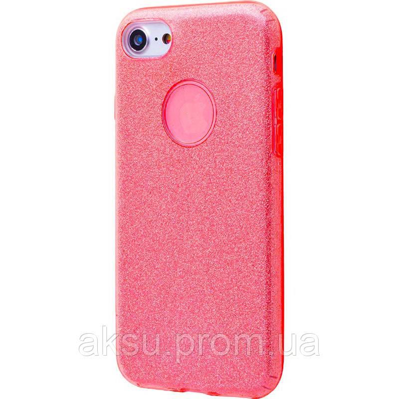 Чехол Shining Glitter для iPhone 7/8 (red)