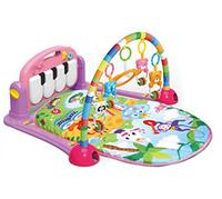Развивающий коврик-пианино для малышей (РОЗОВЫЙ) арт. 0604