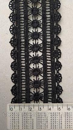 Кружево 5.5 см черное, фото 2