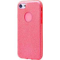 Чехол Shining Glitter для iPhone 7 Plus/8 Plus (red), фото 1