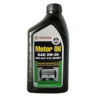 Масло моторное Toyota Motor Oil 0W-20 (002790WQTE) 0,946 л.
