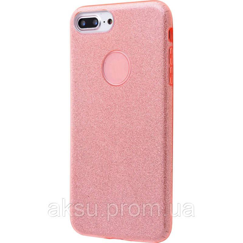 Чехол Shining Glitter для iPhone 7 Plus/ 8Plus (pink)