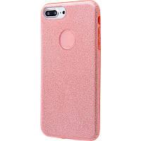 Чехол Shining Glitter для iPhone 7 Plus/ 8Plus (pink), фото 1