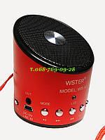 Портативная мини радио колонка WSTER WS-A9