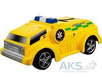 Игрушка Bburago Автомодель серии GoGears Спецслужбы (свет, инерционный механизм) 18-30350-2 Yellow