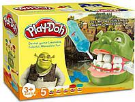 "Набор для лепки Play-Doh ""Мистер Зубастик Шрек"" c бормашинкой"