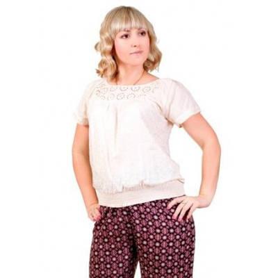 Блуза женская  на резинке
