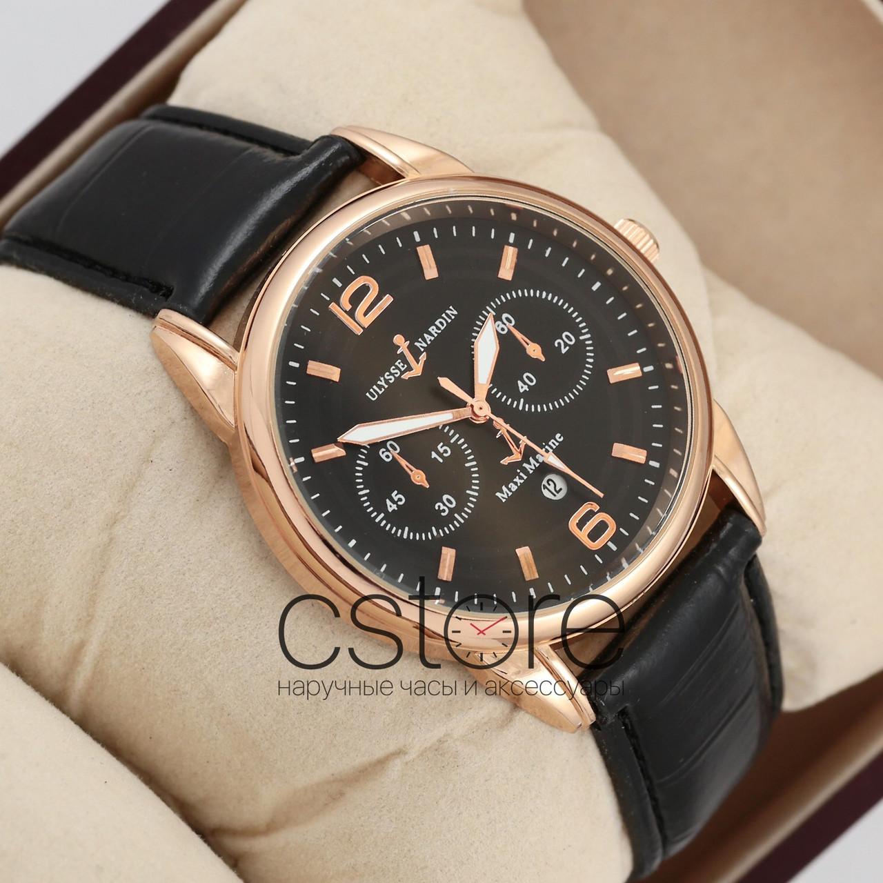 Заказать мужские золотые часы ulysse nardin