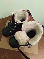 Ботинки детские зимние для девочки. 23 размер ортопедические-профилактические