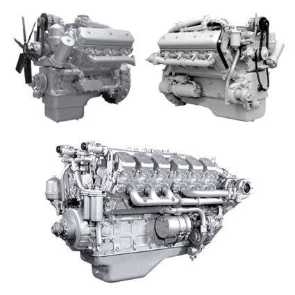 Запчасти к двигателям ЯМЗ-236-240