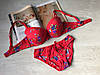 Комплект нижнего белья Biweier чашка B 3850 красный, фото 5