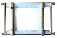 Пяльцы гобеленовые (рамка-пяльцы) 30 х30 см, натяжение канвы с четырех сторон