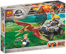 "Конструктор Bela 10921 ""Погоня за птеранодоном"" (аналог Lego Jurassic World 75926 ), 138 дет."