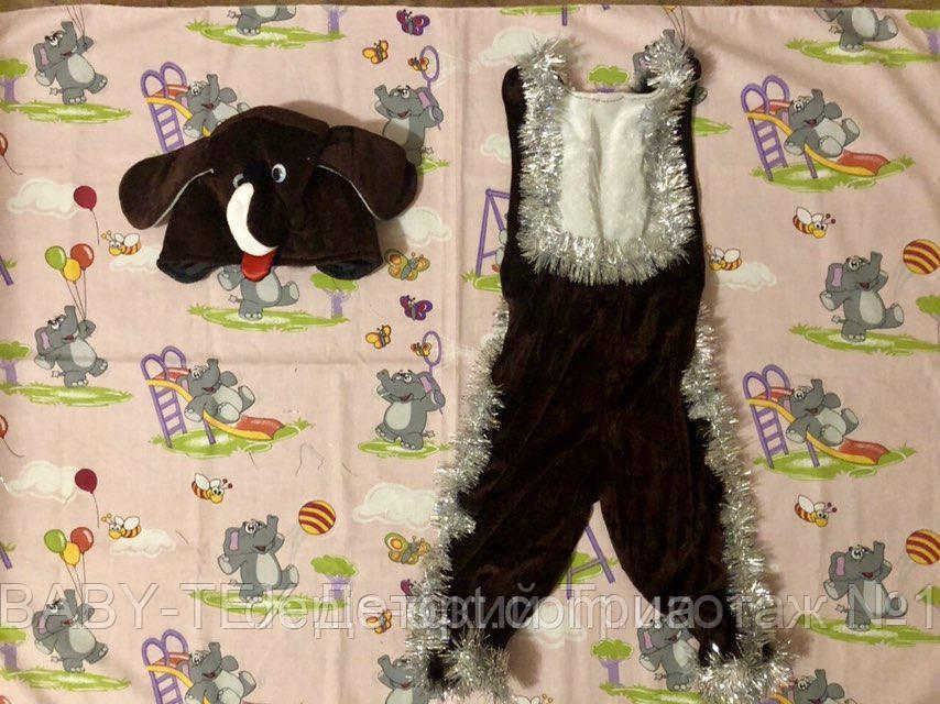 Карнавальний костюм Собака велюр
