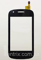 Тачскрин (сенсор) для Alcatel One Touch 4015 POP C1 Dual Sim, черный
