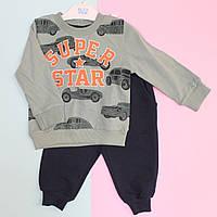 Костюм спортивный для мальчика Super Star: кофта и штаны размер 74