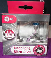 General Electric Megalight Ultra Н4+120% (Венгрия)