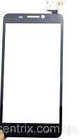 Тачскрин (сенсор) для Alcatel One Touch 6030 Idol, черный